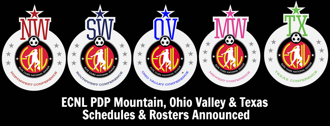 ECNL PDP Players Selected